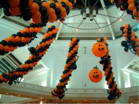 decoracion Halloween-globos