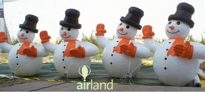 ¡Decora la Navidad con nuestroshinchables!